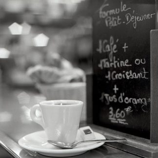 ABFR553 - Blaustein, Alan - Café, Champs-Élysées
