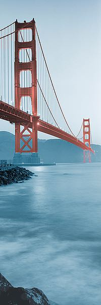 ABSFV02 - Blaustein, Alan - Golden Gate Bridge at Dawn (B)