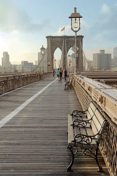 ABSPT0207 - Blaustein, Alan - Brooklyn Bridge Walkway No. 2