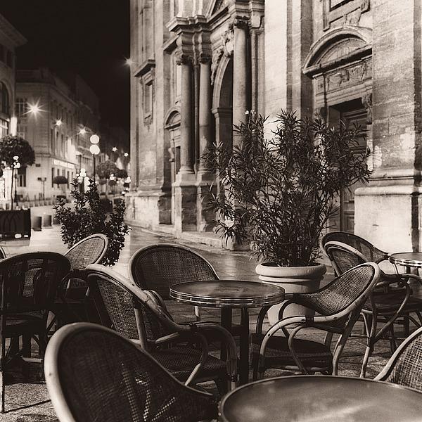 B1344D - Blaustein, Alan - Café, Avignon