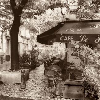 B1388 - Blaustein, Alan - Café, Aix-en-Provence