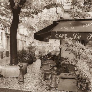 B1388D - Blaustein, Alan - Café, Aix-en-Provence