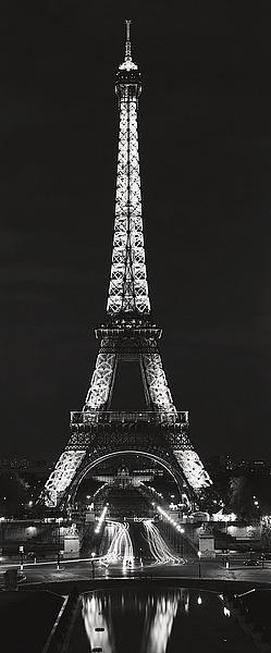 B1439D - Blaustein, Alan - Tour Eiffel la Nuit