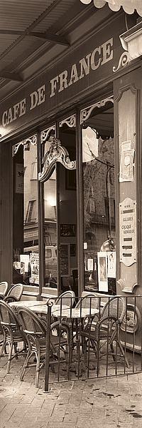 B1442D - Blaustein, Alan - Café de France
