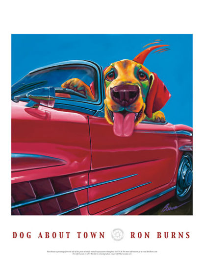 B1485 - Burns, Ron - Dog About Town