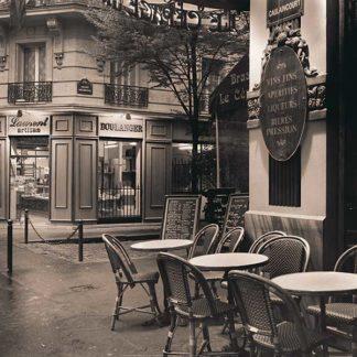 B2257 - Blaustein, Alan - Café, Montmartre
