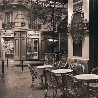 B2257D - Blaustein, Alan - Café, Montmartre