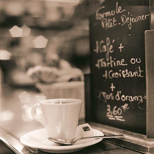 B2259D - Blaustein, Alan - Café, Champs-Élysées