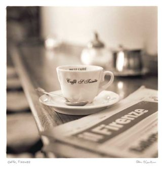 B2261 - Blaustein, Alan - Caffè, Firenze