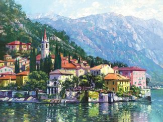B2699D - Behrens, Howard - Reflections of Lake Como