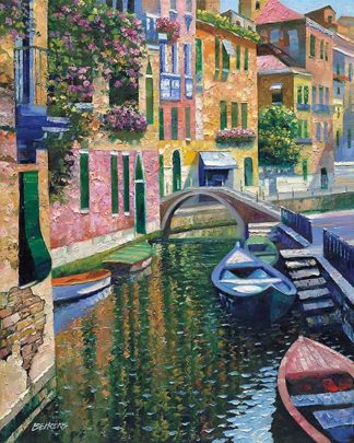 B2701D - Behrens, Howard - Romantic Canal