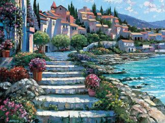 B2704D - Behrens, Howard - Steps of St. Tropez