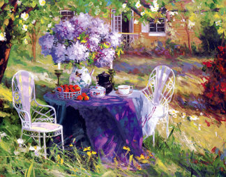 B2824D - Benjamin - Lilac Tea Party