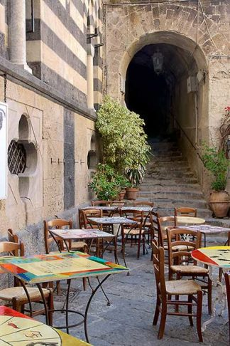 B2879D - Blaustein, Alan - Caffe, Amalfi