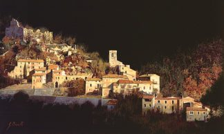 B3153D - Borelli, Guido - Paesaggio Scuro