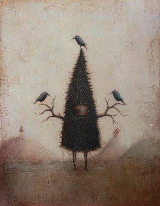 B3182D - Barnes, Paul - Friend of the Crow
