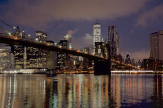 B3231D - Blaustein, Alan - Brooklyn Bridge at Dawn