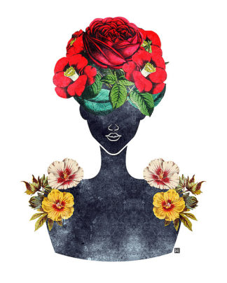 B3263D - Brown, Tabitha - Flower Crown Silhouette III