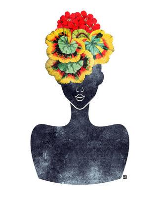 B3264D - Brown, Tabitha - Flower Crown Silhouette IV