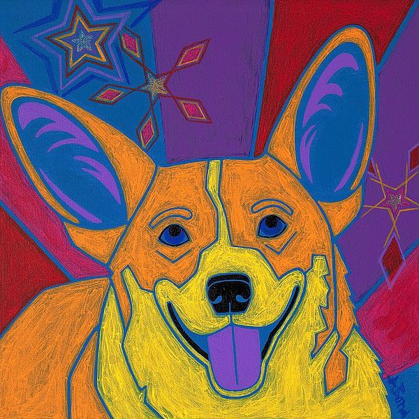 B3503D - Bond, Angela - Joyful Corgi