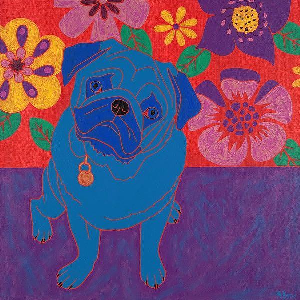 B3507D - Bond, Angela - Perspicacious Pug