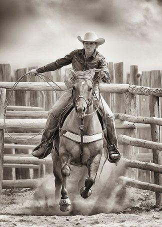 D1027D - Dearing, Lisa - Ride 'Em Cowgirl