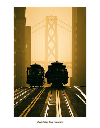 F303 - Funk, Mitchell - Cable Cars, San Francisco