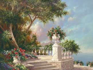 F347D - Fronckowiak, Art - Balcony at Lake Como