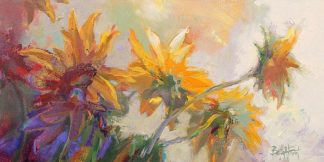 F610D - Forst, Beth A. - Three Long Blossoms