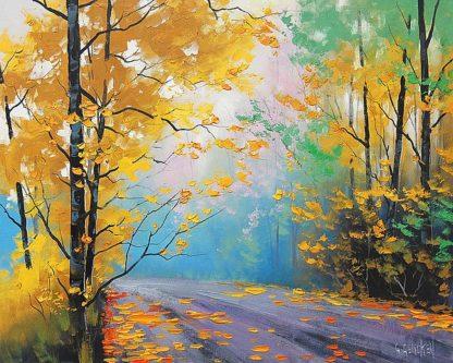 G708D - Gercken, Graham - Misty Autumn Day