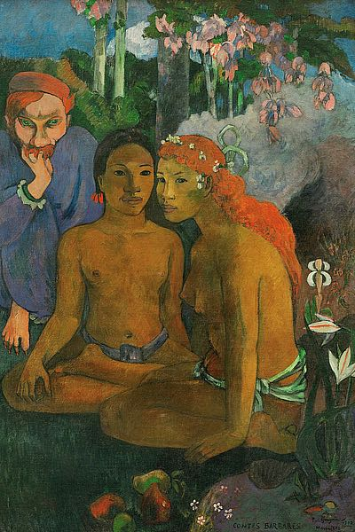 G798D - Gauguin, Paul - Contes barbares