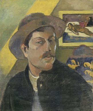 G799D - Gauguin, Paul - Self Portrait with a Hat