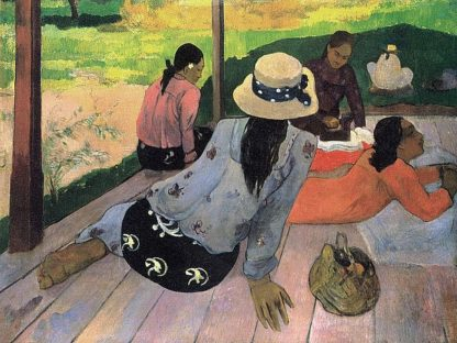 G803D - Gauguin, Paul - The Siesta