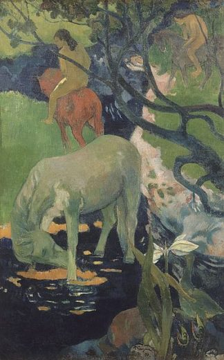 G804D - Gauguin, Paul - The White Horse