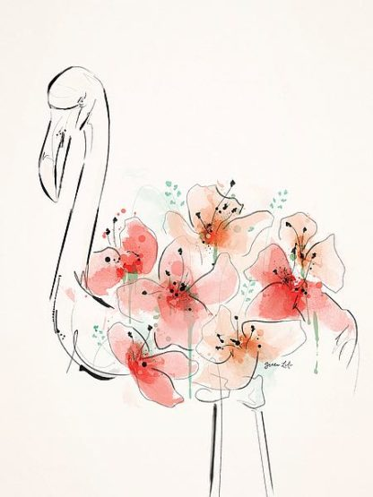 G828D - Green Lili - Flamingo Flowers