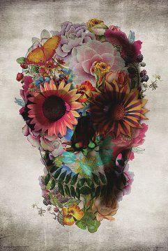 G861 - Gulec, Ali - Flower Skull