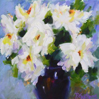G873D - Gatens, Pamela - White Peony Bouquet