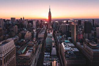 G883D - Getty, Bruce - Empire Sunburst Sunrise