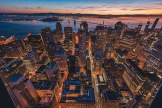 G888D - Getty, Bruce - Morning Look Down San Francisco