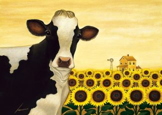 H1000D - Herrero, Lowell - Sunflower Cow