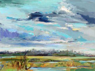 H1168D - Hallock, Carol - Marsh Skies