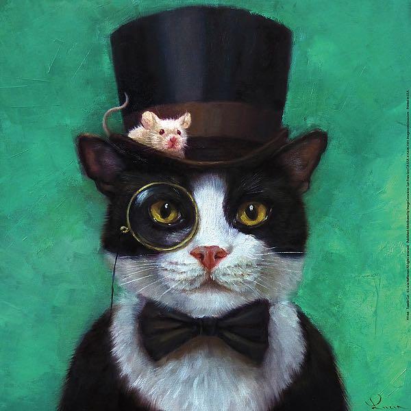H1188 - Heffernan, Lucia - Tuxedo Cat