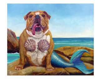 H1192 - Heffernan, Lucia - Mermaid Dog