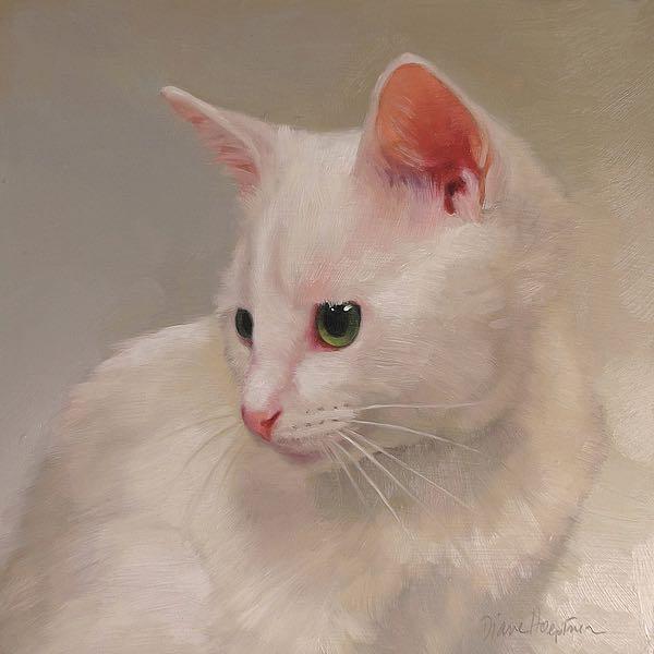 H1294D - Hoeptner, Diane - White Kitten