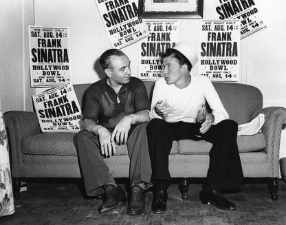 H1357D - Unknown - Frank Sinatra Aug. 14, 1943 At the Hollywood Bowl