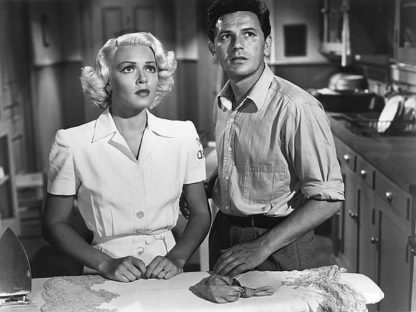 H1365D - Unknown - Lana Turner 1946 'The Postman Always Rings Twice' B