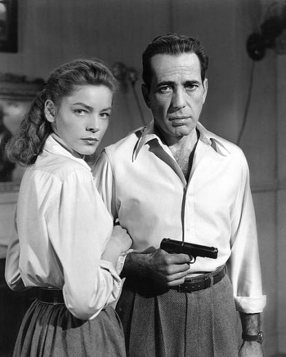 H1370D - Unknown - Lauren Bacall and Humphrey Bogart in 'Key Largo' 1948