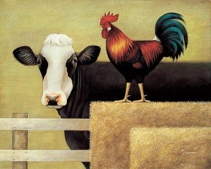 H945D - Herrero, Lowell - Barnyard Cow