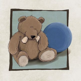 IN30985 - GraphINC - Teddy Bear and Ball