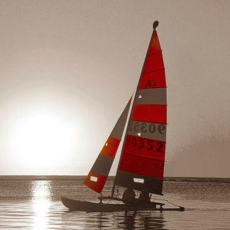 IN31352 - PhotoINC Studio - Sailboat Sunset